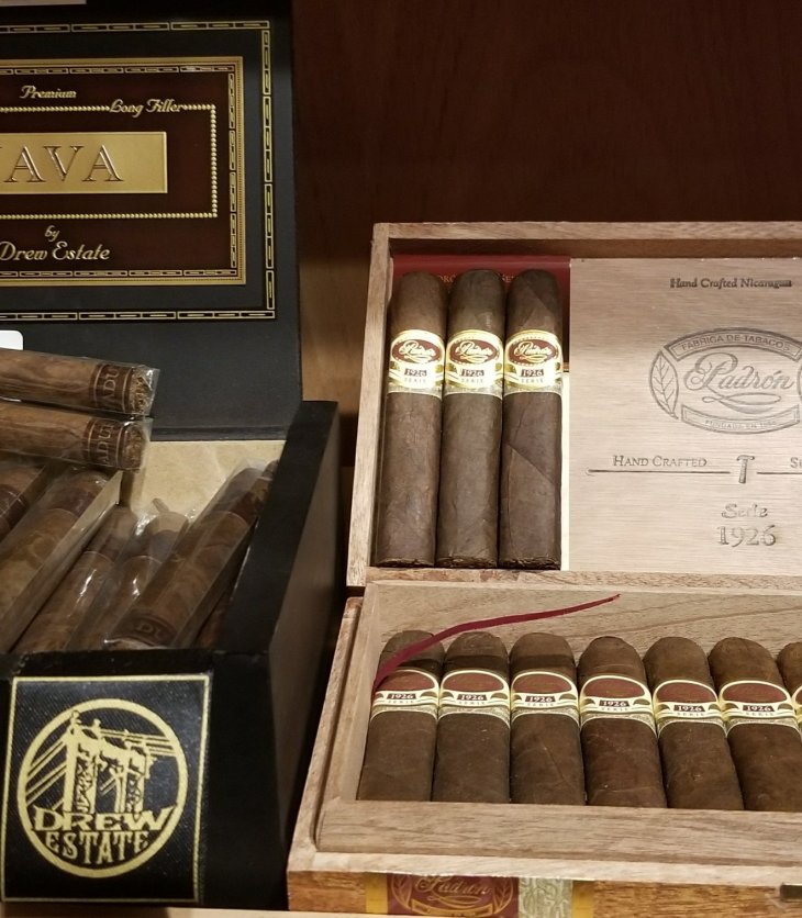 Drew Estate Java and Padron 1926 Cigars
