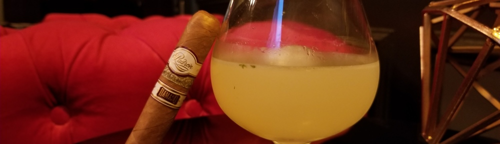 Padron Damaso Cigar and The Monarch Cocktail