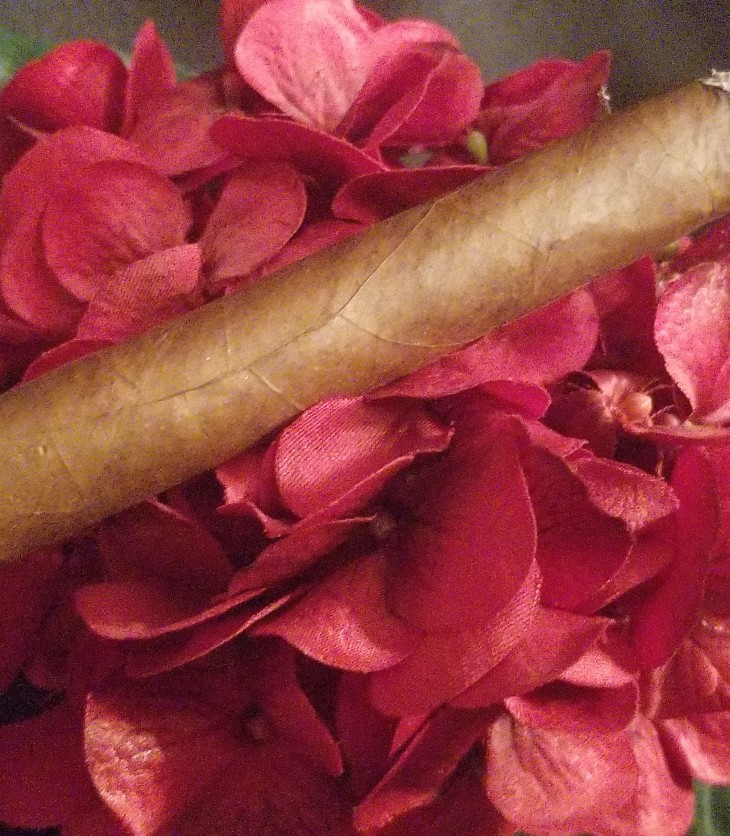Cigar on Flowers